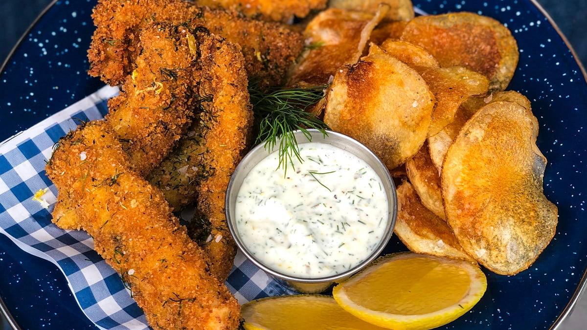 pollo frito casero